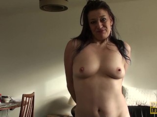 Even-handedly of age streetwalker anally crushed to the fore tasting cum