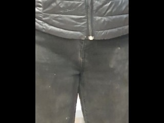 Step mom fucked through ripped jeans by step son after graduation