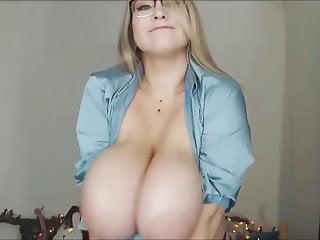 Giant Tits Bouncing Out Of Top