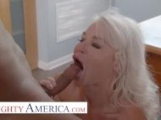 """""""Naughty America - London River is willing to help her student, but she wants cock in return"""""""