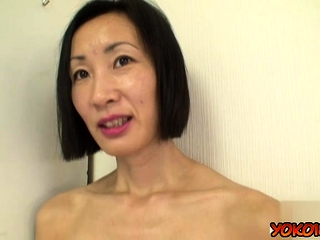 Japan mature audition and money-shot