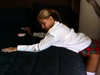 Light-haired wifey In horny hook-up Game