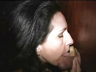 Hot Mature Wife Working the Gloryhole