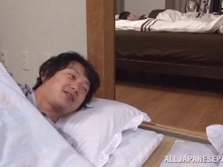 Yuuko Kuremachi busty mature Asian babe enjoys sucking cock