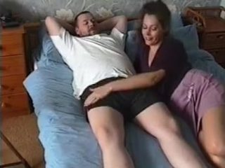 Incredible redhead enjoys fully clothed sex