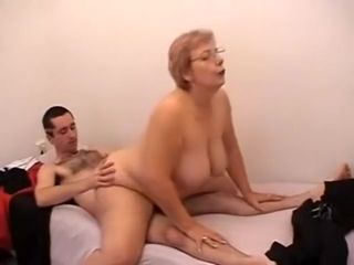 Horny Amateur movie with Grannies, Big Tits scenes