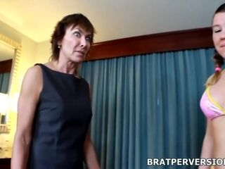 Miss Brat And Lillian Tesh In Mature Wife Dominated By Husbands Homewrecker Mistress