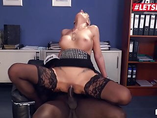 LETSDOEIT - first-ever Time When I attempt big black cock At Office ! Impressive !
