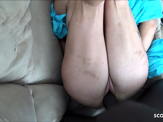 Cougar bi-atch Homemade fucktape boink with thick dark-hued hard-on