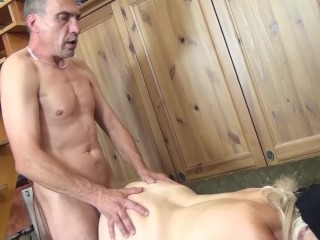 Huge-titted moms first-ever domination & submission boink lesson
