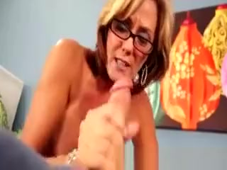 Enormous boobed nasty Mature luvs draining youthfull Slong