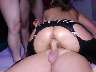 big boob german milf sexy susi gets rough anal group banged at our weekend swinger party orgy