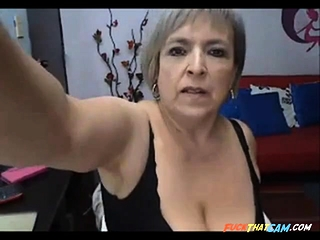 Mature Latina With huge white milk cans