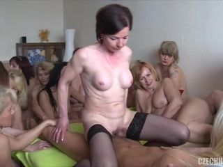 Mother nymphs share man sausage
