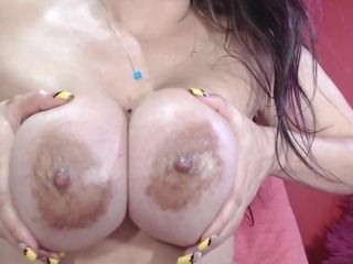 Mature fat bootie Latina with proper globes On webcam