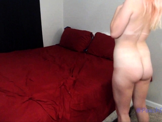 Inexperienced ginger-haired hand job