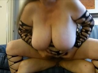 This old bitch does a nice RCG and I love her big saggy breasts