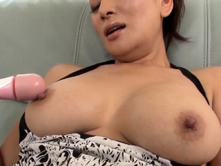 Mom with large boobs, first - More at Japanesemamas.com