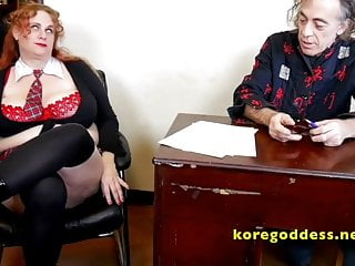 Schoolgirl with massive tits gets anal from her teacher