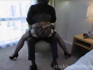 Stockingsbabexxx E017 Filling my holes again part one - big fun bags