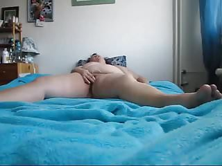 Misapplied talking BBW cums upstairs vibrator