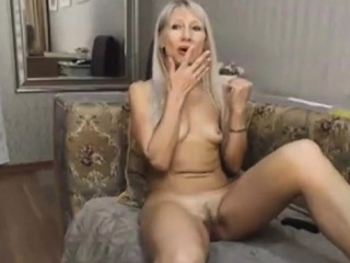 Alice blond first-timer Mature Solo Ftv chick