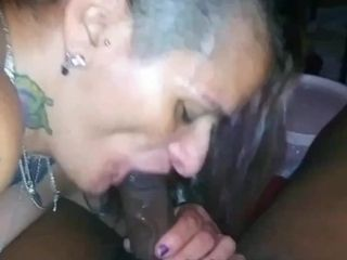 Makin Daddy Moan While I Suck His Dick Dry!