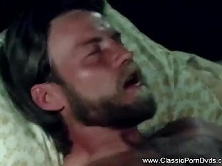 Classic Threesome - Guy Gets 2 Babes and Enjoys The Sex