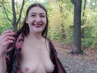 'INHALE 45 Outdoor Smoking & Nudity by Gypsy Dolores'