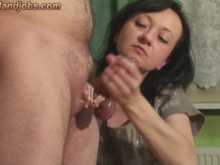 Utterly mighty ejaculation with vibing cockring