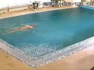 Hidden cam Pool cougar